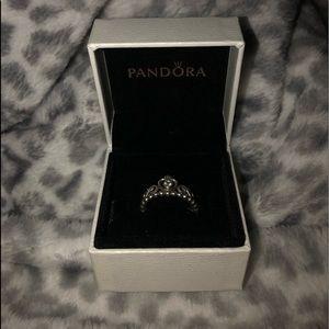 Pandora princess ring (perfect condition)